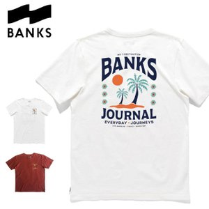 Tシャツ バンクス BANKS JOURNAL ANGELES TEE (2021SU) サーフィン メンズ 半袖T|golgoda