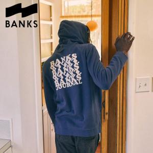 パーカー バンクス BANKS JOURNAL / WARPED FLEECE サーフィン メンズ スウェット|golgoda