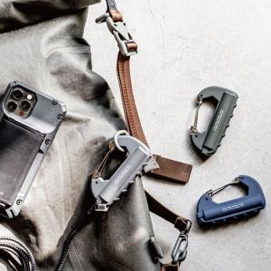 モバイルバッテリー CARABINER BATTERY カラビナバッテリー バッテリー 充電器 キャンプ アウトドアにも|golgoda