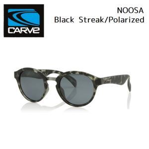 サングラス CARVE NOOSA Black Streak Polarized カーブ ヌーサ 偏光レンズ SUNGLASS|golgoda