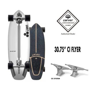 【予約7月】サーフスケート CARVER カーバ CI THE FLYER アルメリックフライヤー 30.75 (CX 4 トラック)  チャンネルアイランド|golgoda