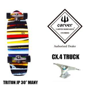 CARVER カーバ TRITON Whale 30 サーフスケート スケートボード スケボー スケート コンプリート 完成品|golgoda