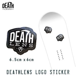 ステッカー DEATH DIGITAL LENS LOGO ...