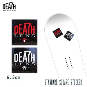 ステッカー DEATH DIGITAL LENS STAND...