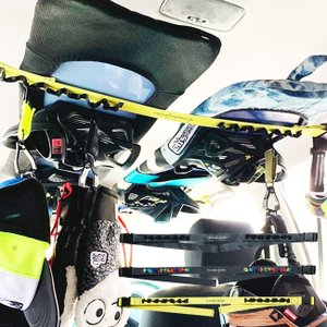 車内ラック eb's HANGING TAPE サーフボード スノーボード  サーフィン スノボ 釣...