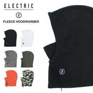フードウォーマー ELECTRIC エレクトリック FLEECE HOOD WARMER フリース スノーボード 防寒 パーカー ネックウォーマー 20-21|golgoda