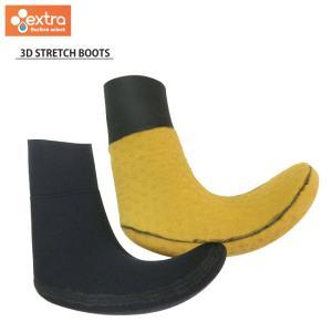 サーフィン用ブーツ EXTRA 3Dストレッチブーツ 3mm 冬用サーフブーツ ソックス|golgoda