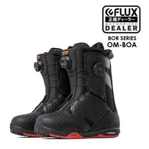 予約10-11月 18-19モデル FLUX フラックス OM-BOA ブーツ ボア BOOTS メンズ レディース スノーボード スノボ SNOWBOARD