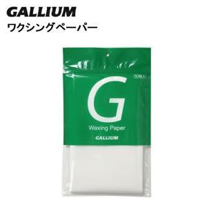 チューンナップ GALLIUM ガリウム ワクシングペーパー 50枚入り スノーボード用ワックス W...