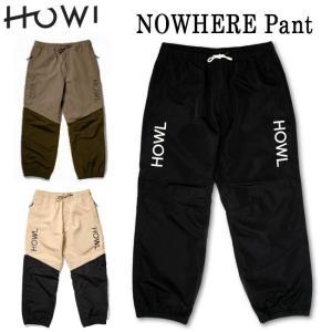 ハウル HOWL NOWHERE PANT (TECHNICAL APPAREL) 21-22 スノーボード用 パンツ メンズ レディース|golgoda