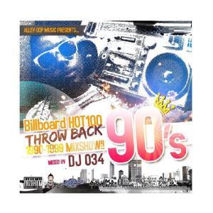 90sHIT曲61曲 DJ034 MIX CD ビルボード HOT100 90s 90年代 CLASSICS ミックスCD