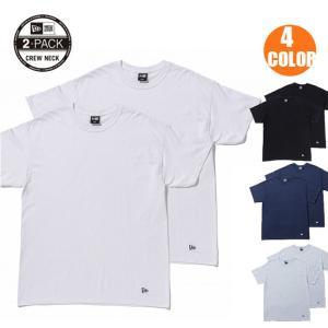 2枚セット NEWERA ニューエラ コットン Tシャツ 2-Pack Tee 半袖 無地