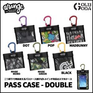 パスケース ORAN'GE Pass Case Double...
