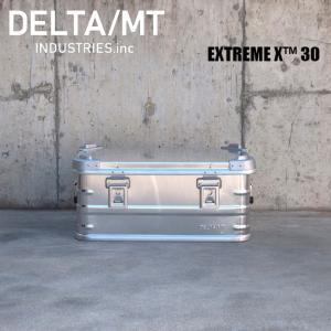 アルミ コンテナボックス DELTA / MT Extreme X 30 / アルミニウム キャンプ アウトドア インテリア 収納 golgoda