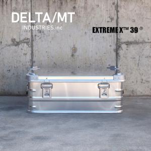 アルミ コンテナボックス DELTA / MT Extreme X 39 / アルミニウム キャンプ アウトドア インテリア 収納 golgoda