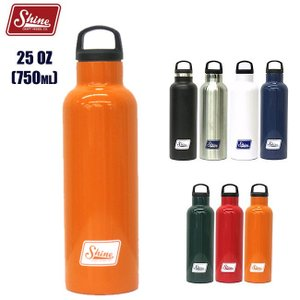 シャインクラフトヴェセル 750ml Shine CRAFT VESSEL 25OZ BOTTLE ステンレス ボトル タンブラー 水筒 キャンプ アウトドア BBQ|golgoda