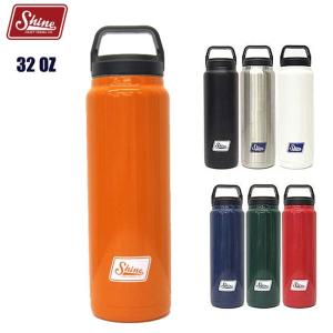 シャインクラフトヴェセル 907ml Shine CRAFT VESSEL 32OZ BOTTLE ステンレス ボトル タンブラー 水筒 キャンプ アウトドア BBQ|golgoda