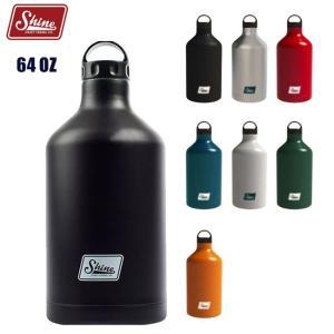 シャインクラフトヴェセル 1.8L Shine CRAFT VESSEL 64OZ BOTTLE ステンレス ボトル タンブラー 水筒 キャンプ アウトドア BBQ|golgoda