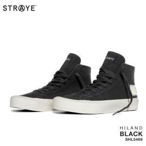 ストレイ スニーカー HILAND / BLACK (SHL5469) スケート シューズ golgoda