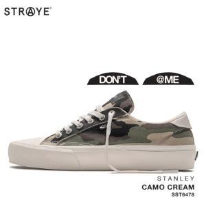 ストレイ スニーカー STRAYE STANLEY / CAMO CREAM(SST6478) スケート シューズ golgoda