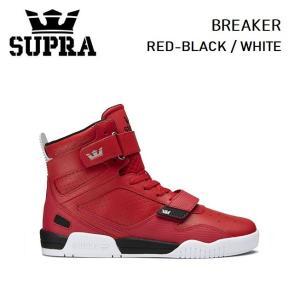 スープラ  SUPRA BREAKER RED-BLACK/WHITE (05893-662) 2020SS スニーカー スケート golgoda