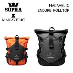 スープラ  SUPRA MAKAVELIC ENDURE ROLLTOP 2020SS マキャベリック ロールトップ BACKPACK バックパック golgoda