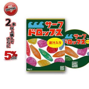 サーフィン DVD サーフドロップス Vol.1 サーフフードの新シリーズ SURF DVD【店頭受取対応商品】