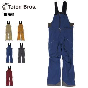 予約 ティートンブロス ビブパンツ Teton Bros TB Pant 21-22 スノーボード ウエア スキー スノボーウェア メンズ|golgoda