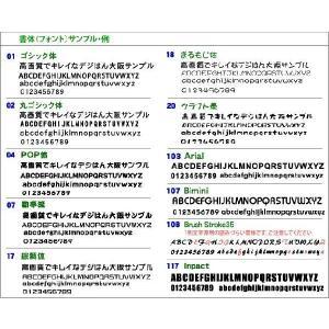 スタンプ・デジはん最大(名刺)サイズ LLtype 浸透印で補充インク付 ゴム印では表現不可の高画質はんこデス golhan 03