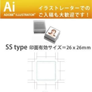 でじはん落款・蔵書印・会社印・角印・SStype 26mm四角の範囲内で制作います golhan 05