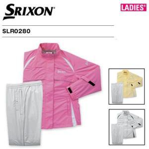 スリクソン レディース レインウェア 上下セット SLR0280|golkin