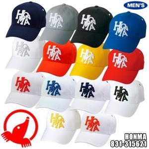 ホンマゴルフ HONMA メンズ ダンシングロゴキャップ 831-315621|golkin