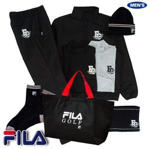 フィラ ゴルフ FILA 2020年新春福袋 メンズ ブラックセット 789100|golkin