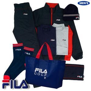 フィラ ゴルフ FILA 2020年新春福袋 メンズ ネイビーセット 789101|golkin