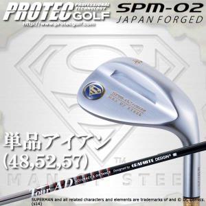 PROTEC GOLF プロテック ゴルフ スーパーマン アイアン SPM-02 JAPAN FORGED 単品アイアン Tour AD 65 カーボン|golkin