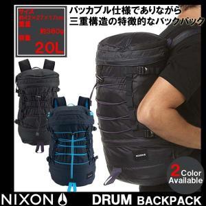 リュック ニクソン NIXON ドラム バックパック DRUM BACKPACK C2557 メンズ レディース 鞄 カバン バッグ|golkin