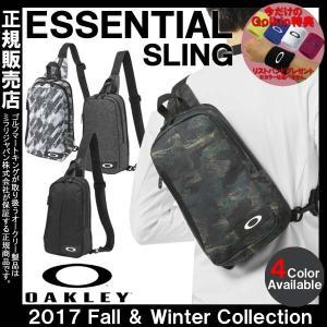 6L ワンショルダー 2017 日本正規品 OAKLEY オークリー エッセンシャル スリング ボディバッグ 921084JP|golkin