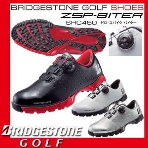 ブリヂストン ゴルフ ゼロ スパイク バイター atop リール スパイクレス シューズ SHG450|golkin