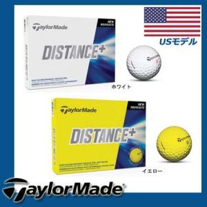 【US輸入品】テーラーメイド ディスタンスプラス ゴルフボール 1パック [12球入り] golkin