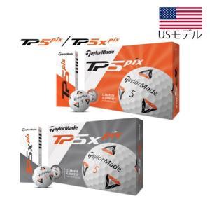 【US輸入品】 テーラーメイド 2020モデル TP5 Pix/ TP5x Pix ゴルフボール 1...