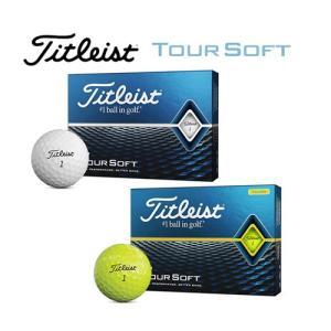 タイトリスト TOUR SOFT 2020 ゴルフボール 1ダース [12球入り]|golkin