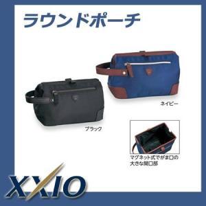 【2017年モデル】ゼクシオ XXIO ラウンドポーチ GGF-B5010|golkin