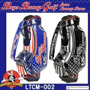 ルーニーテューンズ バッグスバニースター キャディバッグ 9型 LTCM-002 LOONEY TUNES BUGS BUNNY STAR|golkin