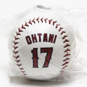 エンゼルス大谷翔平の硬式野球ボール。 ボールの両面に印刷されています(写真参照)。 エンゼルスタジア...