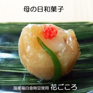母の日 和菓子 上生菓子 花ごころ 個包装1個 北海道産福白金時豆使用|gomadaremochi