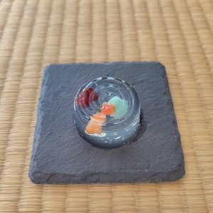 金魚 和菓子 夏の上生菓子 夏金魚 個包装 1個|gomadaremochi