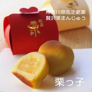 お年賀 横浜土産 神奈川みやげ 大粒栗の贅沢栗まんじゅう 栗っ子6個入り|gomadaremochi