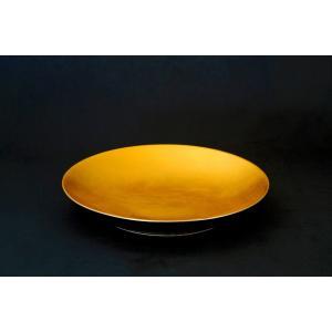 最高級おもてなし凛シリーズ「30cm黄金大皿」(M)|gomei