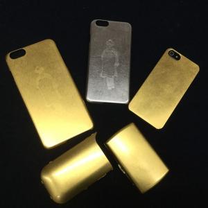 携帯ゴールドカバー(持込制作)|gomei