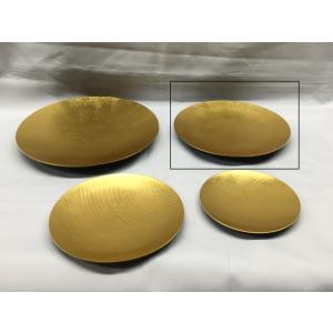 最高級漆器「うすびき小皿」14.5cm(L)|gomei